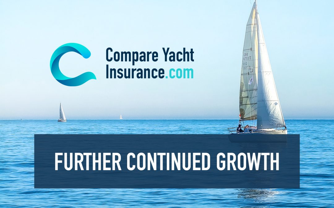 CompareYachtInsurance.com announces further continued growth