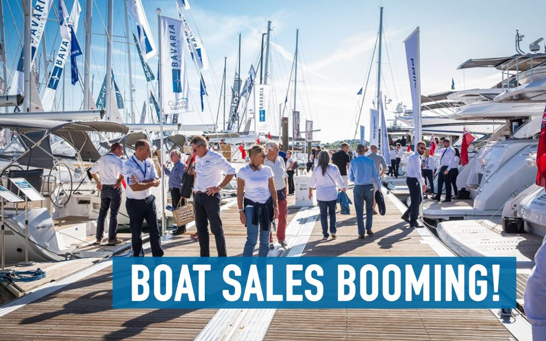 Boat sales booming as a result of Covid-19 – but will it continue?